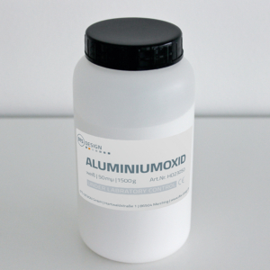 Aluminiumoxid weiß 50 μ 1500 g - HO23050