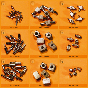 Schlauchverbinder-Kit MESSING - DTS150000